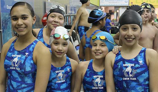 Dolphins Swim team